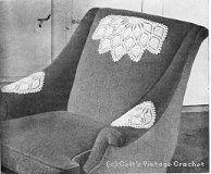 Pineapple Fan Chair Set Crochet Cushion Cover, Crochet Cushions, Crochet Tablecloth, Chair Back Covers, Chair Backs, Free Crochet Doily Patterns, Crochet Doilies, Thread Crochet, Filet Crochet