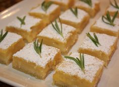 How to Make Rosemary Lemon Bars Recipe - Snapguide