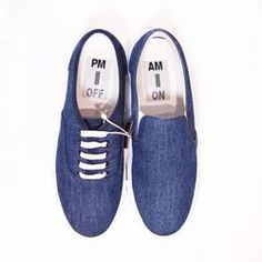 This denim sneaker comes with a piece of sandpaper that can be used to customise your shoe as you wish. Give it a scratch!