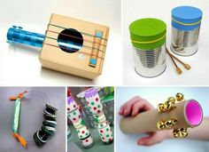 26 Ideas music arte projects for toddlers activities Projects For Kids, Diy For Kids, Crafts For Kids, Instrument Craft, Diy And Crafts, Arts And Crafts, Music Crafts, Homemade Toys, Le Far West