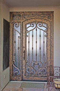 Verona Iron Entry Doors #Firstimpression