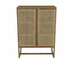 GlobeWest - Willow Woven Storage Unit