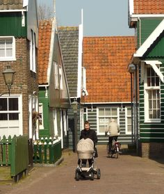 Markem, Holland  You cannot drive in the village, vistors are on foot only. Such a cute place.