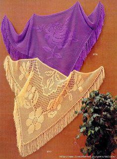Wraps, found on : http://crochet103.blogspot.nl/2013/11/loins-shawls.html