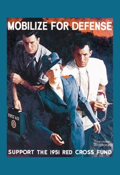 Mobilize for Defense, by Norman Rockwell