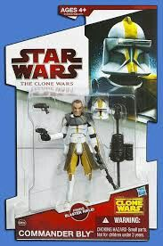Star Wars The Clone Wars toys commander bly