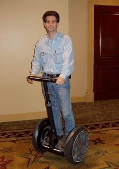 Dean Kamen Attended Worcester Polytechnical Institute.(Ma) Went on to develop the segway among other inventions. Moved to a Bedforrd, NH http://en.wikipedia.org/wiki/Dean_Kamen
