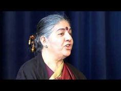Genetic engineering is about controlling the world..Dr. Vandana Shiva on Just Food