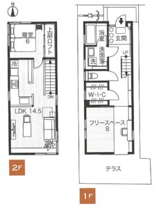 House Roof, House Floor Plans, Tiny House, Building A House, Flooring, How To Plan, Home Decor, Japanese, Staircases