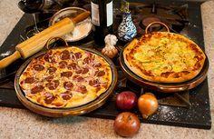 Receita de massa de pizza italiana
