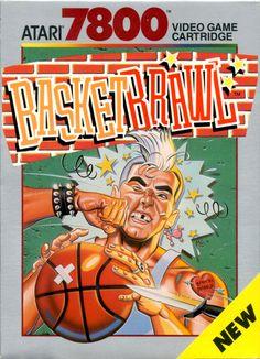 BasketBrawl, Atari 7800.