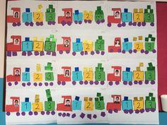 Sayı treni, 3 rakamını öğrendik, kare sanat etkinliği, kesme yapıştırma çalışması,