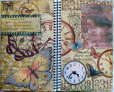 Creative Expressions: journal pages