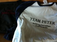 Team Peter. The start of Breaking Dawn actor, ERIK ODOM'S fandom.