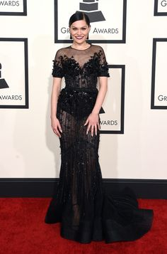 The Grammys 2015 Best Dressed List Is Full Of Black Sparkly Gowns