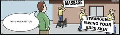 It's all in how you frame the massage.
