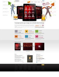 Website for the popular Bar Stock Exchange platform!