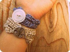 Simple Crochet Bracelet Pattern