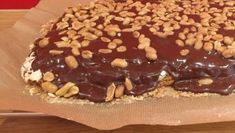 Snickerskake. TV 2. Norwegian Food, Norwegian Recipes, Doughnut, Cake Recipes, Pudding, Cookies, Baking, Fruit, Desserts