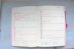 Anatomie d'un Bullet Journal