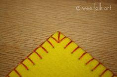 Learn perfect blanket stitch · Needlework News | CraftGossip.com