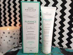 Resenha do Gel Renovador Puriance Ultimate Profuse, indicado para peles oleosas. Melhora a textura da pele, reduz o tamanho dos poros e é não comedogênico.