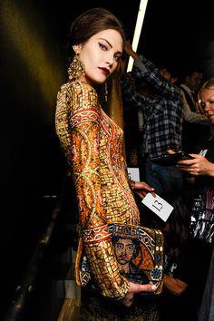 From lillyunique.tumblr.com Mosaic dress