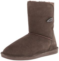 BEARPAW Women's Victorian Snow Boot,Chocolate,12 M US *** To view further for this item, visit the image link.