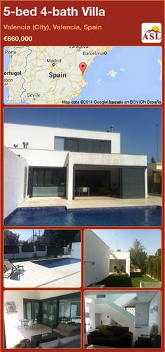 5-bed 4-bath Villa in Valencia (City), Valencia, Spain ►€660,000 #PropertyForSaleInSpain