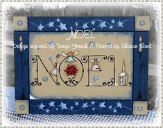 Noel - Painted by Sharon Bond, Painting With Friends E Pattern by PaintingWithFriends on Etsy
