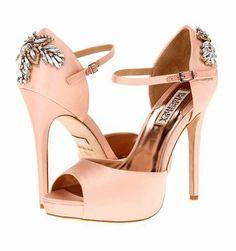 REVEL: Peach Wedding Shoes Keywords: #weddings #jevelweddingplanning Follow Us: www.jevelweddingplanning.com  www.facebook.com/jevelweddingplanning/