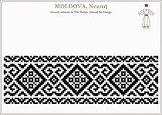 Knitting Stitches, Knitting Patterns, Crochet Patterns, Folk Embroidery, Embroidery Patterns, Beading Patterns, Cross Stitch Patterns, Moldova, Loom Beading