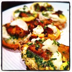Stuffing & Goat Cheese Quiche Cups