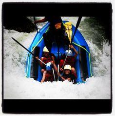 River rafting: Level 4.