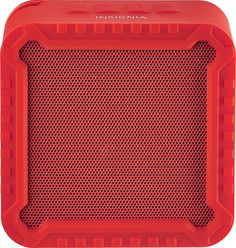 Insignia™ - Portable Bluetooth Speaker - Red