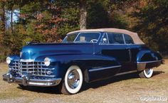 1947 Cadillac Series 62 Convertible Coupe                              …
