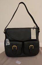 "Radley Black Medium Shoulder Bag - BNWT - ""Stables"" - RRP £179 - NEW"