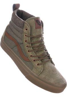 Vans Sk8-Hi-MTE-DX - titus-shop.com #MensShoes #MenClothing #titus #titusskateshop