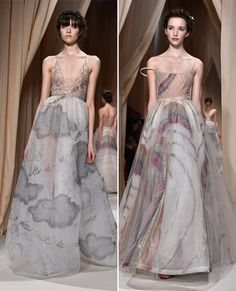 Your Guide to Spring 2015 Couture Fashion Week - Dreamy Creations at Valentino Couture from #InStyle