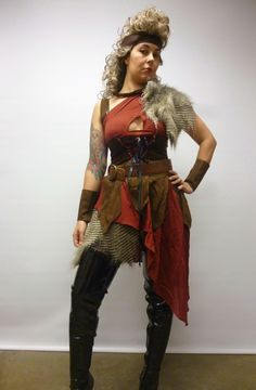 medieval  female warrior costume | images of warrior woman costume creative costumes hire melbourne ...