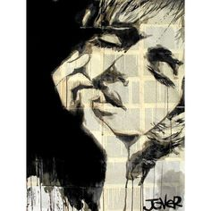 Loui Jover Print - Dreaming the Same Dream (€155) ❤ liked on Polyvore featuring home, home decor, wall art, prints, wood home decor, wooden wall art, wooden home decor and wood wall art