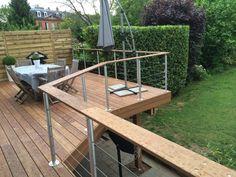 terrasse suspendue en bois                              …