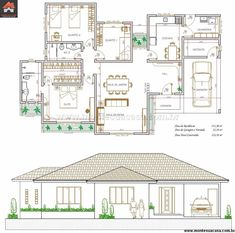 Design Discover Small House Floor Plans House Layout Plans Simple House Plans 4 Bedroom House Plans Open House Plans Home Design Floor Plans Duplex House Plans Dream House Plans House Layouts Free House Plans, Small House Floor Plans, House Layout Plans, Simple House Plans, Duplex House Plans, Home Design Floor Plans, Bungalow House Plans, House Layouts, House Construction Plan