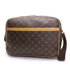 Louis Vuitton Reporter GM Monogram Shoulder bags Brown Canvas M45252