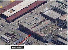 The neighborhood is still transitioning from its industrial origins.