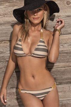Ellis swim interlinked halter bikini agree, this