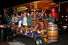 On the Broadway Tour in Nashville!!! Pedal bar