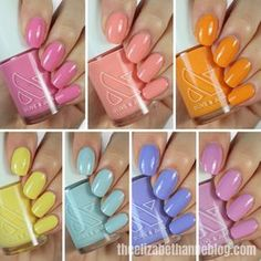 Olive and June summer 2020 collection Sexy Nails, Cute Nails, Summer In A Bottle, Nail Polish Hacks, Olive And June, Sparkly Nails, Cool Nail Art, Nails Inspiration, How To Do Nails
