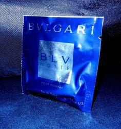 Bvlgari BLV NOTTE Men's EDT 0.06fl oz/2ml Spray Sample-Travel Size seller marley5340