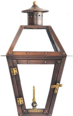 Primo Lanterns PL-18 Bourbon Gas Lantern by Primo Lanterns. $255.00. Copper Gas Lantern.